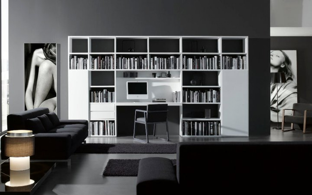 Estanter as y librer as en zaragoza muebles luis miguel for Mueble libreria
